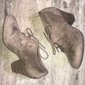 Dr Scholl's Memory Foam heeled ankle boots